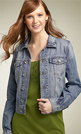 Hot Kiss Stretch Denim Jacket