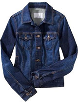 Dark Denim Jacket Womens | Outdoor Jacket