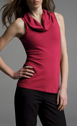 39bc3e062d867 sleeveless-cowl-neck-top-pink.jpgSexy Stretch Sleeveless Cowl-Neck ...
