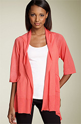 Tarnish Front Tie Cardigan