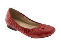 Me Too 'Nadia' Flat - Red Glazed