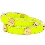 Neon Yellow Double Wrap Bracelet