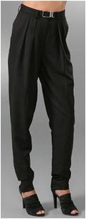 Suekey Zipper Pants