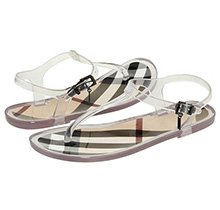 Burberry Jelly Thongs