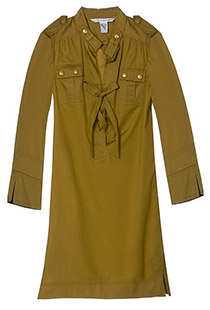 Diane Von Furstenberg Camel Damani Dress