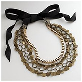 Simply Vera Vera Wang Gold-Tone Multistrand Necklace