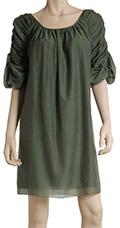 Shirred Sleeve Dress