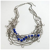 Simply Vera Vera Wang Silver-Tone Multistrand Necklace