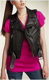 Truth & Pride Crop Motorcycle Vest