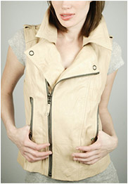"Ever ""Guna"" Leather Vest"