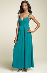 Braided Strap Maxi Dress