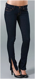 "J Brand Deal 12"" Pencil Leg Jean with Zip"